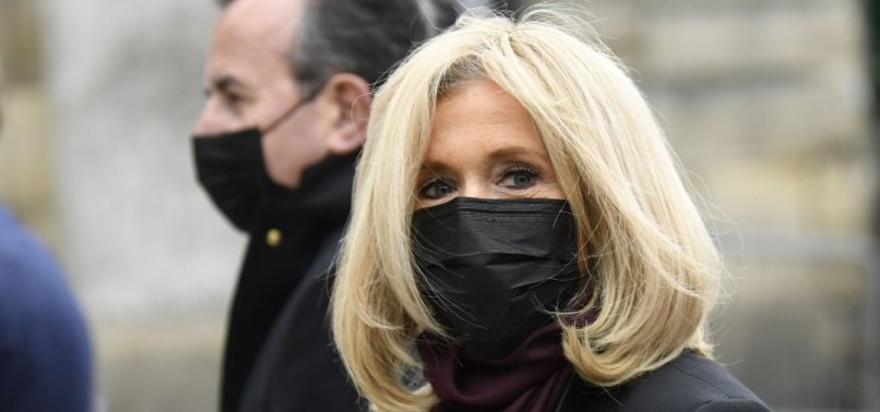 FRANCES FIRST LADY IN ISOLATION AFTER VIRUS EXPOSURE