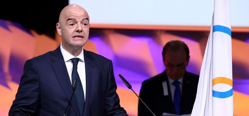 FIFA CHIEF INFANTINO ACCEPTS GAMES ARE AT RISK DUE TO CORONAVIRUS