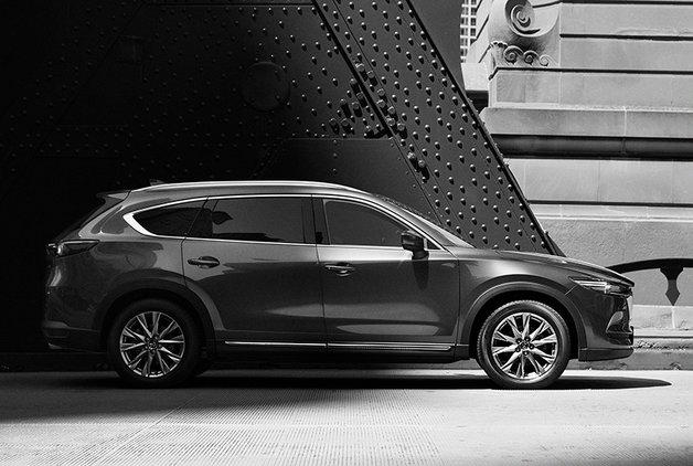 Yeni nesil Mazda CX-8'in ilk görselleri paylaşıldı