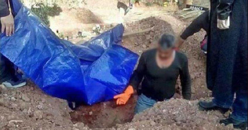 'Roj Gabar' kod aldı PKK'lının cenazesi mezardan çıkarıldı!