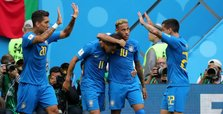 Last-minute goals help Brazil to defeat dogged Costa Rica