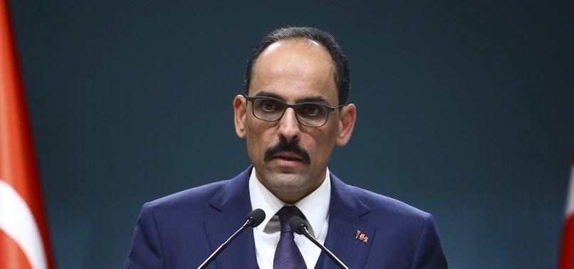 ERDOĞAN AIDE CALLS INTERNATIONAL COMMUNITY TO PUT PLIGHT OF WAR-WEARY SYRIANS AHEAD OF THEIR NATIONAL AGENDAS
