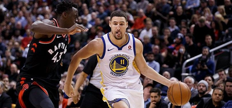 WARRIORS HOLD OFF CHARGING RAPTORS TO WIN ON ROAD