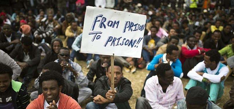 ISRAEL TELLS AFRICAN MIGRANTS TO LEAVE, THREATENS JAIL TIME