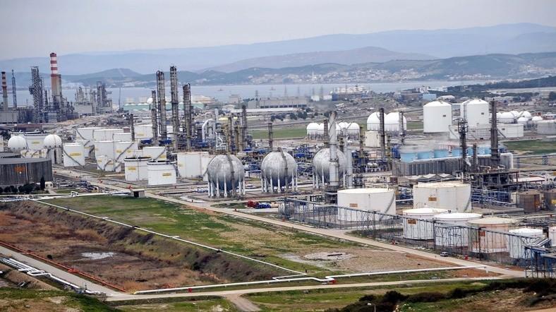 A photo of SOCAR Turkey Agean Refinery constructed by SOCAR Turkey on Petkim peninsula.