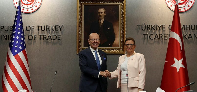 TURKEY, US AIM TO ACHIEVE TRADE TARGET IN BALANCED WAY