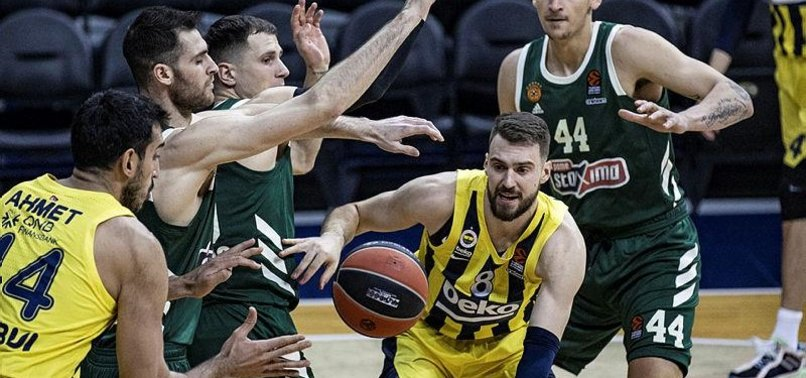 FENERBAHÇE BEAT PANATHINAIKOS FOR FIFTH STRAIGHT WIN