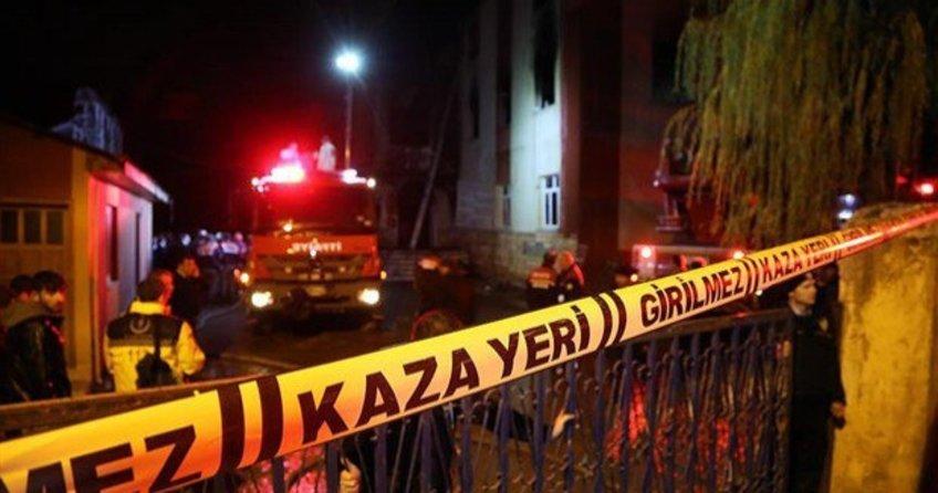 Adana'nın Aladağ'da ki öğrenci yurdunda çıkan yangınla ilgili 6 kişi gözaltına alındı!