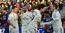 Bale strike gives Madrid narrow win over struggling Huesca