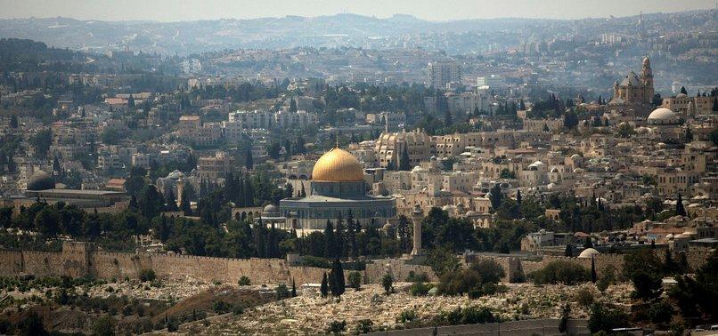 ISRAEL PREVENTING RESTORATION WORKS AT AL-AQSA MOSQUE