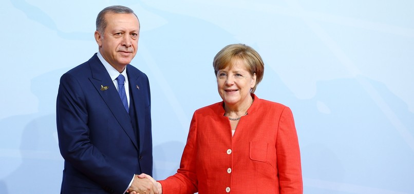 ERDOĞAN, MERKEL DISCUSS SYRIA STRIKES, CHEMICAL ATTACK IN DOUMA