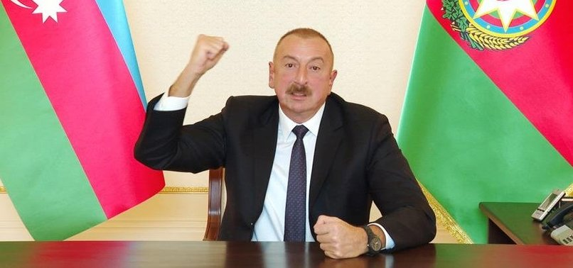 AZERBAIJANI FORCES LIBERATE CITY OF FUZULI AND 7 MORE VILAGES FROM ARMENIAN OCCUPATION: ALIYEV