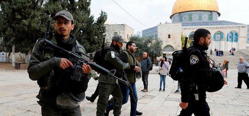 MUSLIM SCHOLARS CONDEMN ISRAELI AGGRESSION AT AL-AQSA