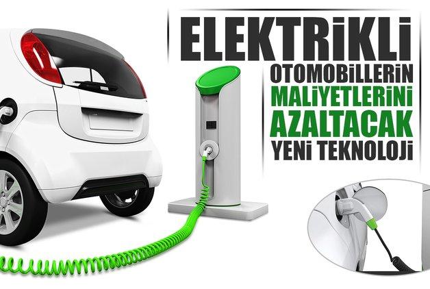Elektrikli otomobillerin maliyetlerini azaltacak yeni teknoloji