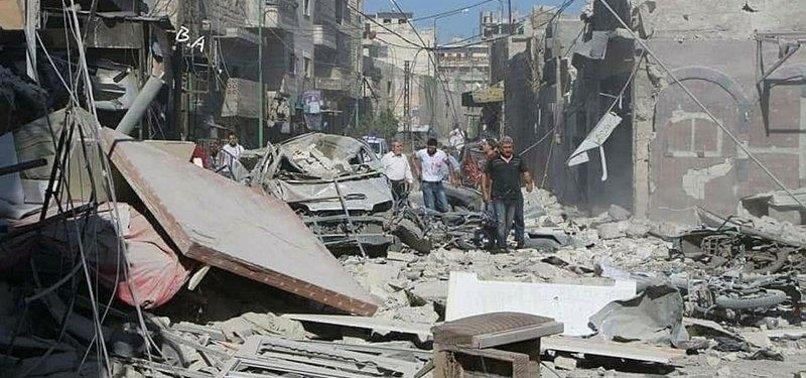REGIME STRIKES KILL SEVEN CIVILIANS IN NORTHWEST SYRIA: MONITOR