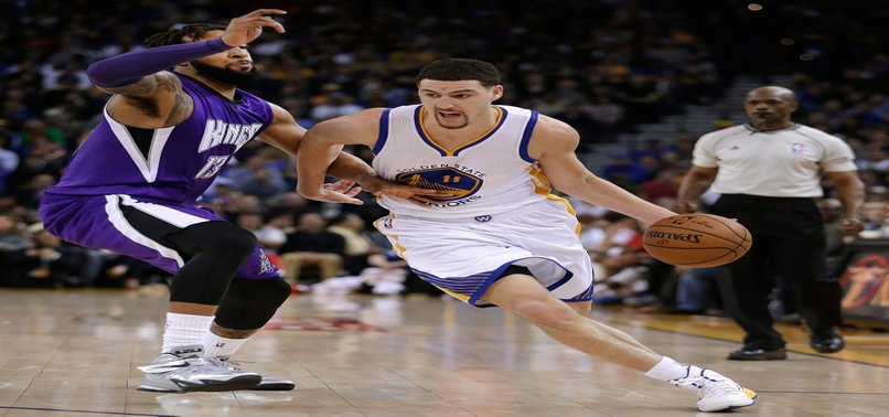 GOLDEN STATE GUARD KLAY THOMPSON SUFFERS LEG INJURY, SEVERITY UNCLEAR