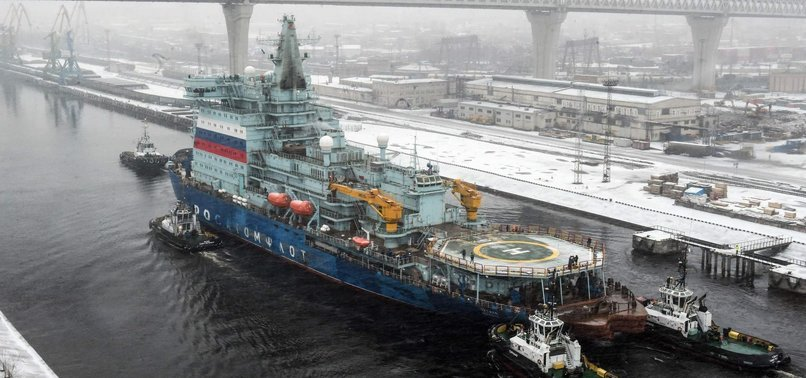 RUSSIAN NUCLEAR-POWERED GIANT ICEBREAKER COMPLETES TEST RUN