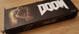 ASUS Turbo GeForce GTX 1070 - Doom Edition
