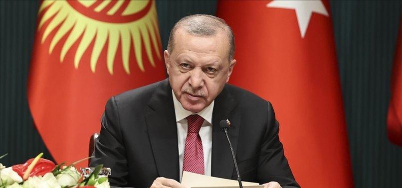 FETO THREATENS TURKISH, KYRGYZSTAN, NATIONAL SECURITY: TURKISH LEADER