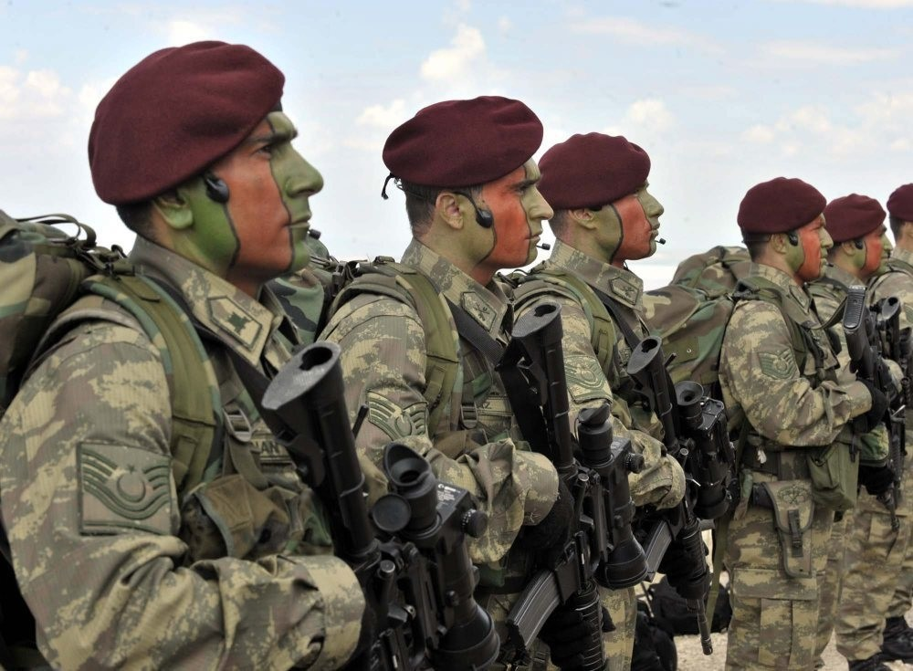 Turkey's Special Forces or ,maroon berets, saw a rise in applications after the July 15 coup attempt.