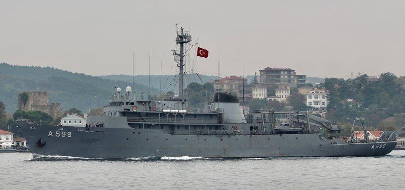 GREEK JETS HARASS TURKISH RESEARCH VESSEL IN AEGEAN SEA - DEFENSE CHIEF