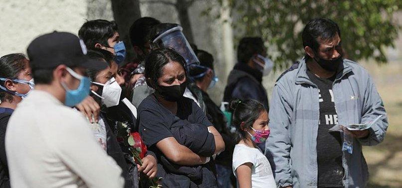 MEXICO CORONAVIRUS DEATH TOLL RISES TO 153,639