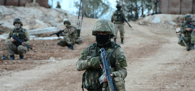 5 PKK TERRORISTS SURRENDER TO TURKISH SECURITY FORCES