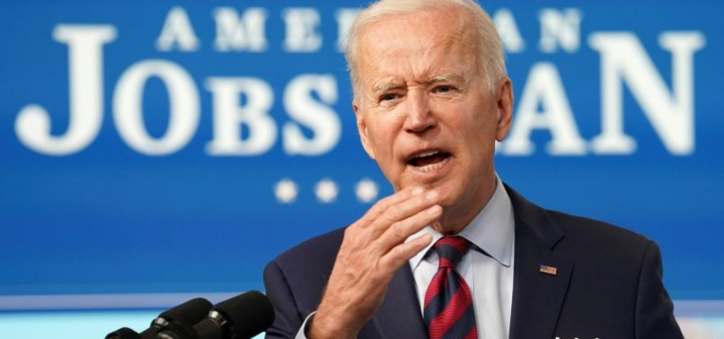 BIDEN RESUMES PALESTINIAN AID, URGES TWO-STATE SOLUTION