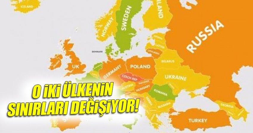 İki Avrupa ülkesinin sınırları tekrardan çiziliyor