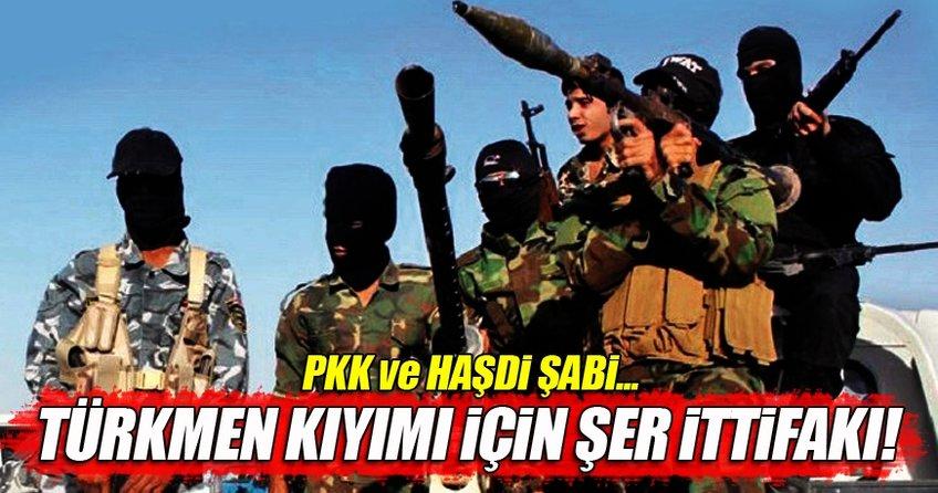 Türkmen kıyımı için hain ortaklık!