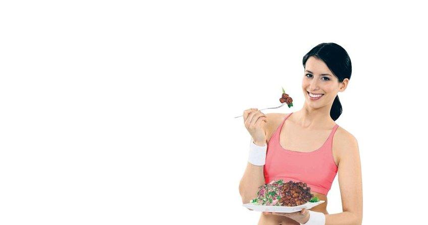 En besleyici 20 bitkisel yiyecek