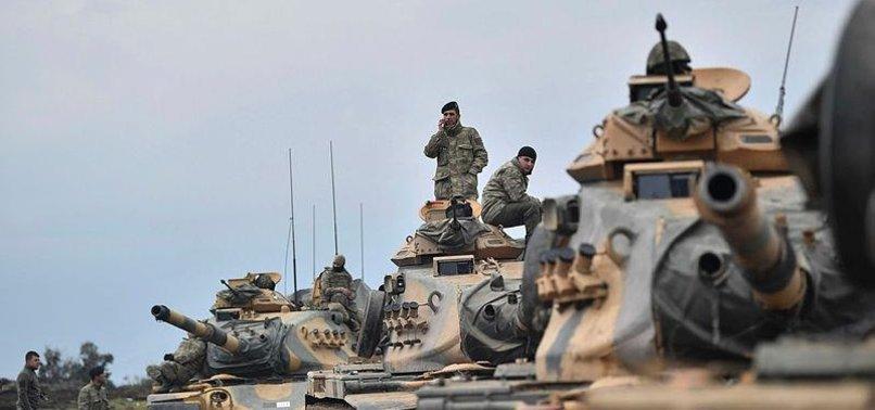 TURKEYS OPERATION OLIVE BRANCH EXTENDS EAST OF AFRIN