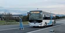 Turkish bus producer Otokar tests autonomous bus