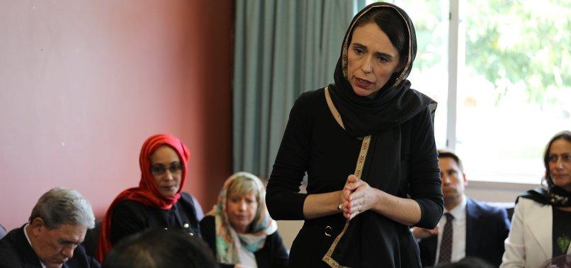 NEW ZEALAND PM VISITS MUSLIM COMMUNITY IN CHRISTCHURCH