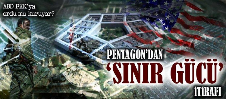 Pentagondan sınır gücü itirafı