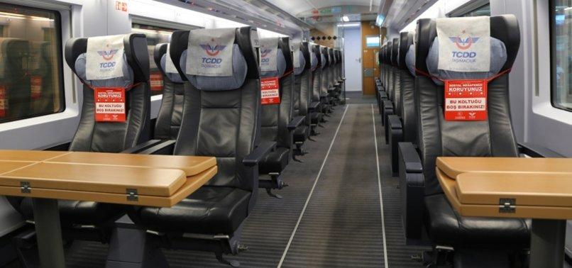 TURKEY TO RESUME SOME INTERCITY TRAIN SERVICES FOLLOWING EID LOCKDOWN