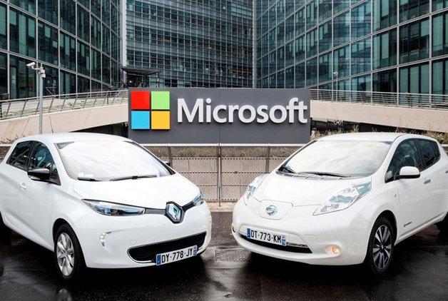 Sürücüsüz araç teknolojisi geliştirme yarışına Microsoft da dahil oldu