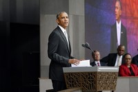 President Barack Obama heralded Saturday the opening of the National Museum of African American History and Culture, an institution dedicated to the many threads of black history and...