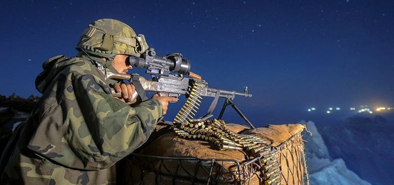2 PKK TERRORISTS NEUTRALIZED BY SECURITY FORCES IN EASTERN TURKEY