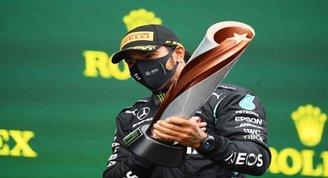Formula 1de 7. kez şampiyon olan Hamilton: Bu, hayallerimizin çok çok ötesinde