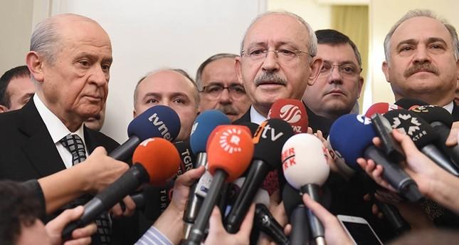 لقاء بين زعيمي المعارضة التركية حول التصويت على التعديلات الدستورية