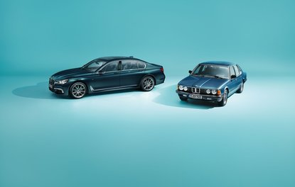 BMW 7 Serisi 40.Yıl özel serisi