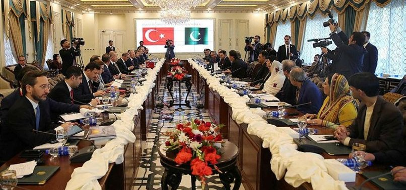 TURKEY, PAKISTAN SIGN A STRING OF MOUS
