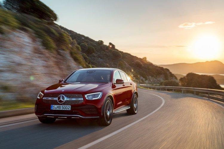 İlk bakış: Mercedes-Benz GLC Coupe