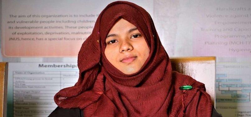 BANGLADESHI EDUCATING ROHINGYA EARNS GLOBAL PRAISE