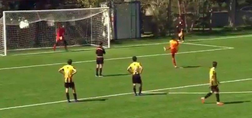 GALATASARAY YOUNGSTER PRAISED FOR DELIBERATE PENALTY MISS