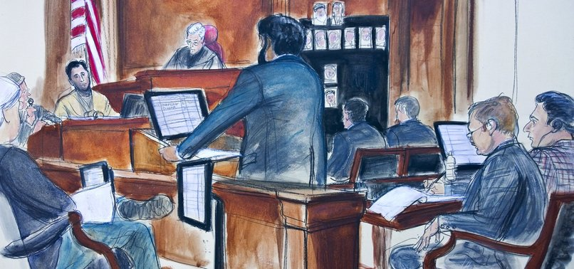 US JURY REJECTS TURKISH BANKER'S MISTRIAL REQUEST FOR THE SECOND TIME