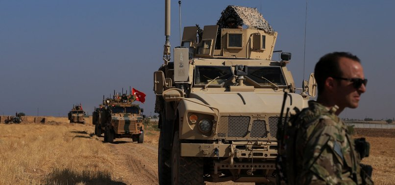 TURKEY, U.S. DISCUSS STEPS FOR SYRIA SAFE ZONE AFTER MILITARY OPERATION
