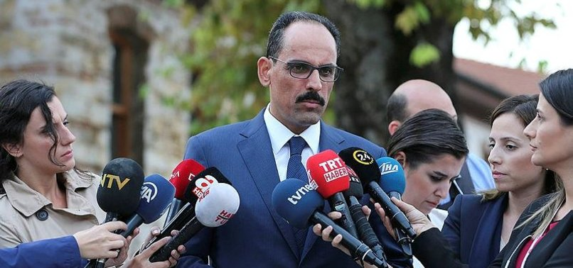 TURKEY'S PRESIDENTIAL AIDE MEETS US ENVOY FOR SYRIA