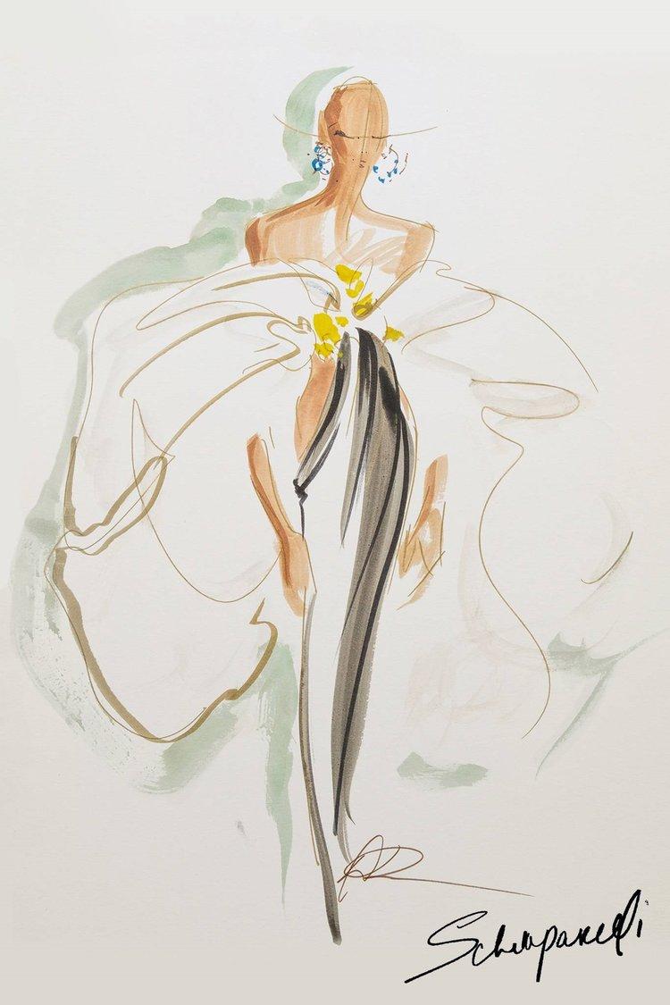 Schiaparelli Sonbahar 2020 Couture koleksiyonu
